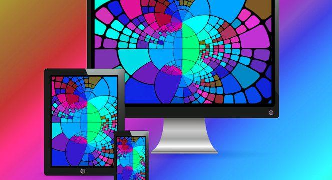 Responsive Design Tablet Smartphone Computer