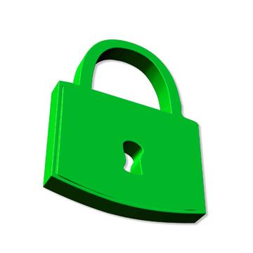 Sicherheit im Internet - Schloss